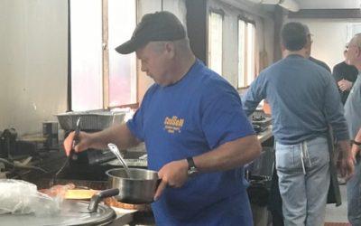 Cassell Volunteers at Spencer Penn Ruritan Breakfast